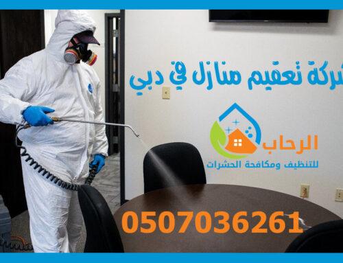 شركة تعقيم منازل في دبي |0507036261|تعقيم بالامارات